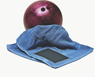 Bowling Ball Towel